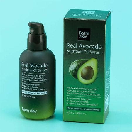 Сыворотка с маслом авокадо зеленая