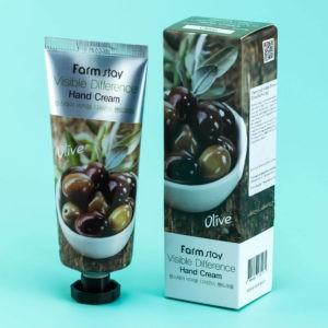 Крем для рук с оливой FarmStay