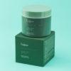 крем для лица зеленый с легкой гелевой текстурой
