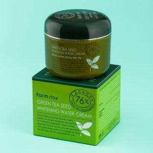 Увлажняющий крем с экстрактом зеленого чая FarmStay
