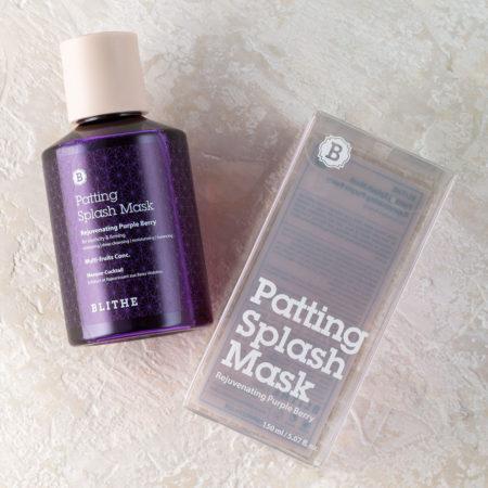 фиолетовая сплэш-маска