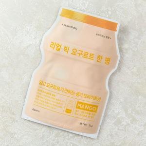 Йогуртовая тканевая маска A'PIEU