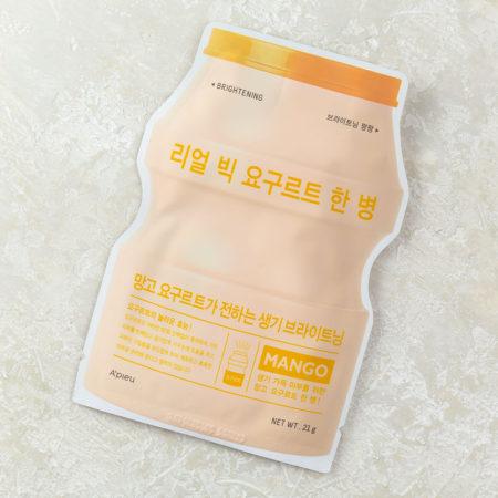 маска для сияния кожи с манго