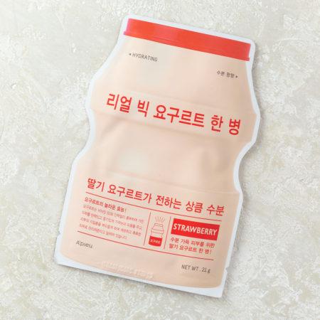 клубничная йогуртовая маска для лица