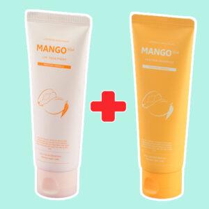 Шампунь + маска для восстановления волос с манго